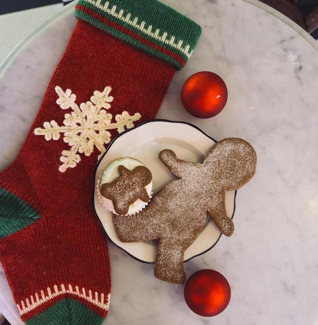 Now making gingerbread cookies!