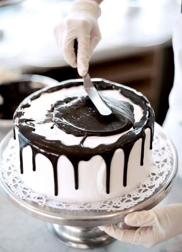 Black & White Cake!