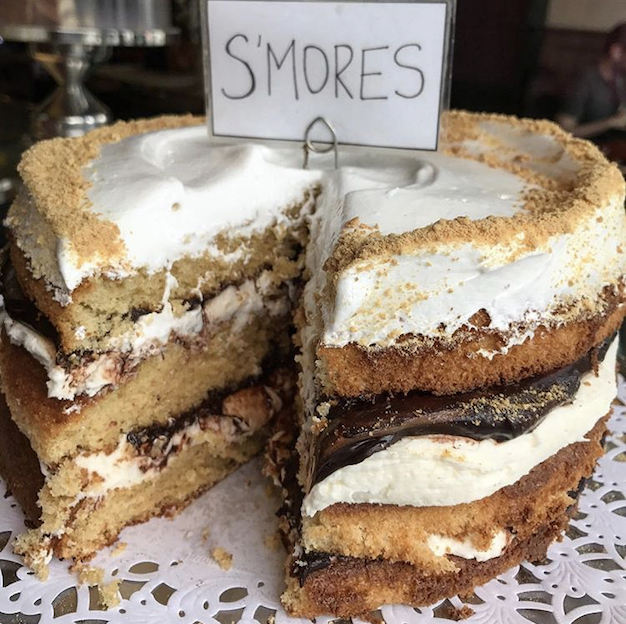 NEW S'MORES CAKE